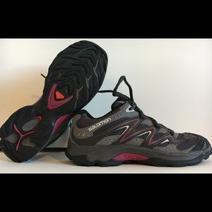SALOMON Women's RAWSON Sz 8 Gray Hiking Trail Shoe